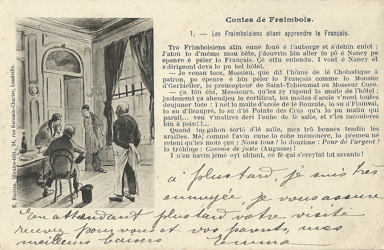 Contes de Fraimbois Wukali