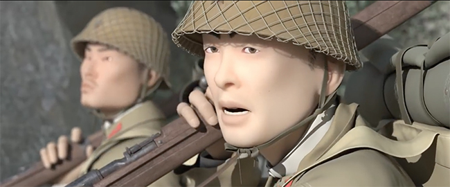 A Korean animated film about Japanese human right abuses during WWII WUKALI
