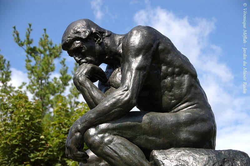 Le penseur Rodin Wukali