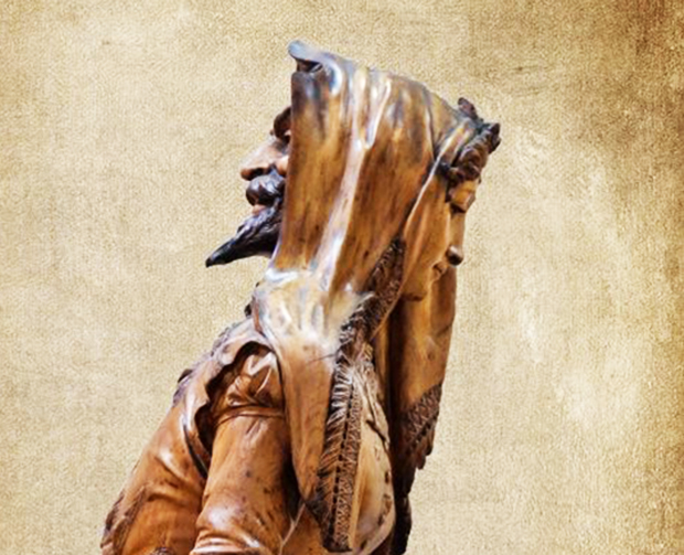 Statue double face