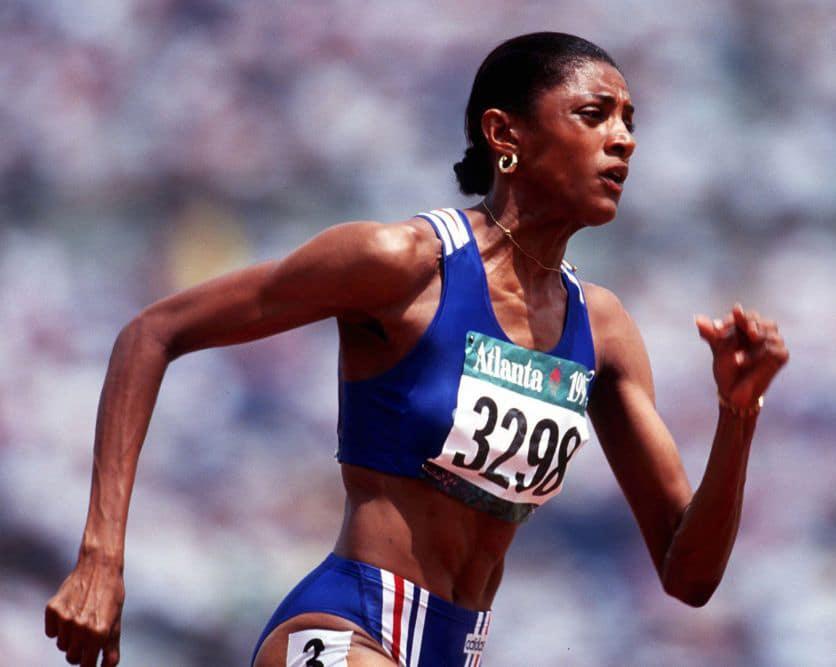 Le goût du sport. Marie José Pérec. J-O d'Atlanta 1996