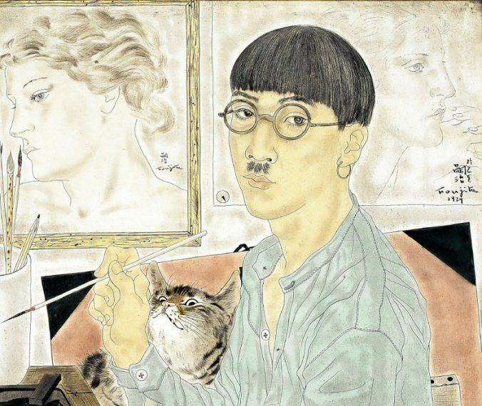 Autoportrait de Foujita.1929