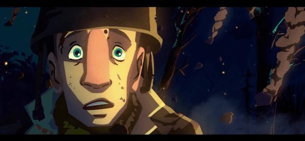 Guerre de Corée-bataille de Chosin-film d'animation