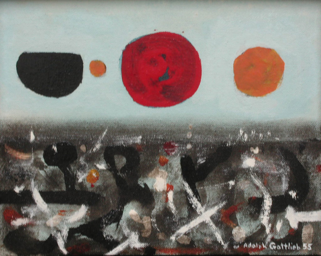 Adolph Gottieb un artiste au coeur de la guerre froide