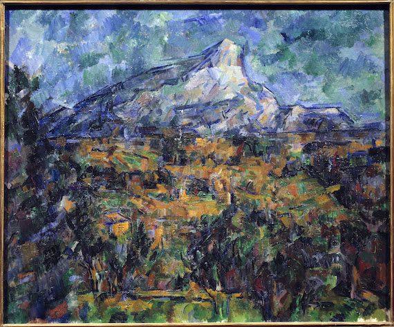 Paul Cézanne-La Montagne Ste Victoire