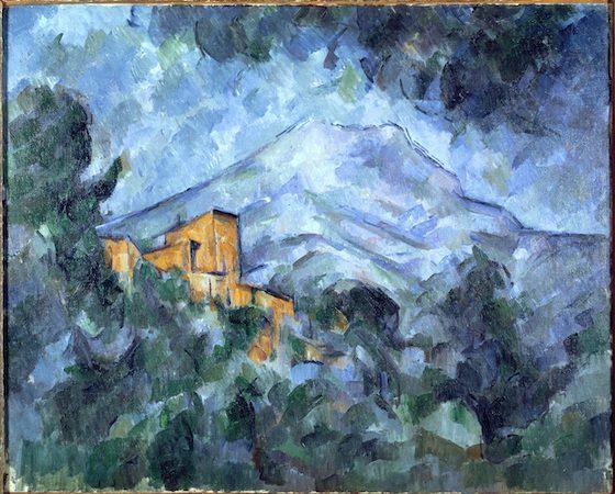 Paul Cézanne-La Montagne Sainte-Victoire et le Château Noir