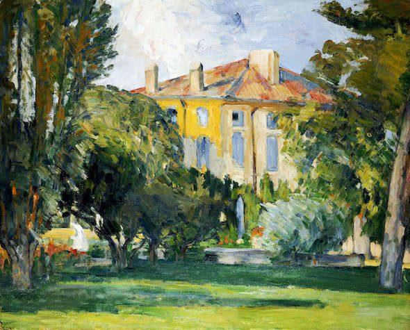 Paul Cézanne- La maison du Jas de Bouffan, 1882-85