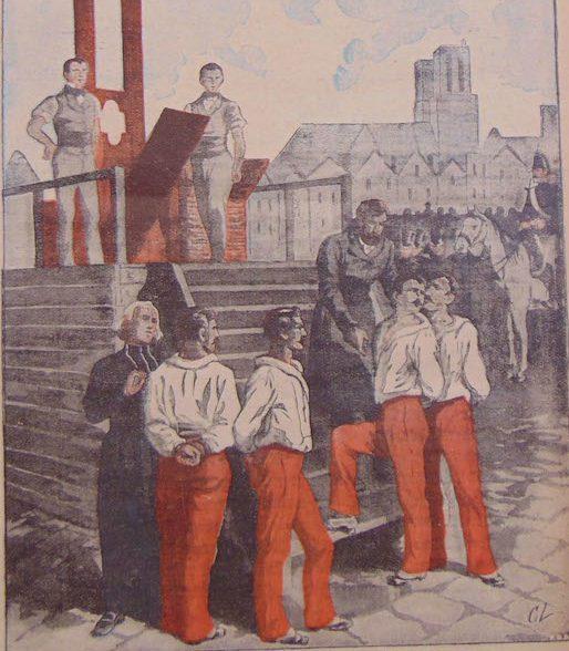 les Quatre sergents de La Rochelle- la Charbonnerie