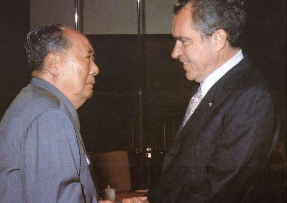 Mao et Nixon- les relations entre la Chine et les USA
