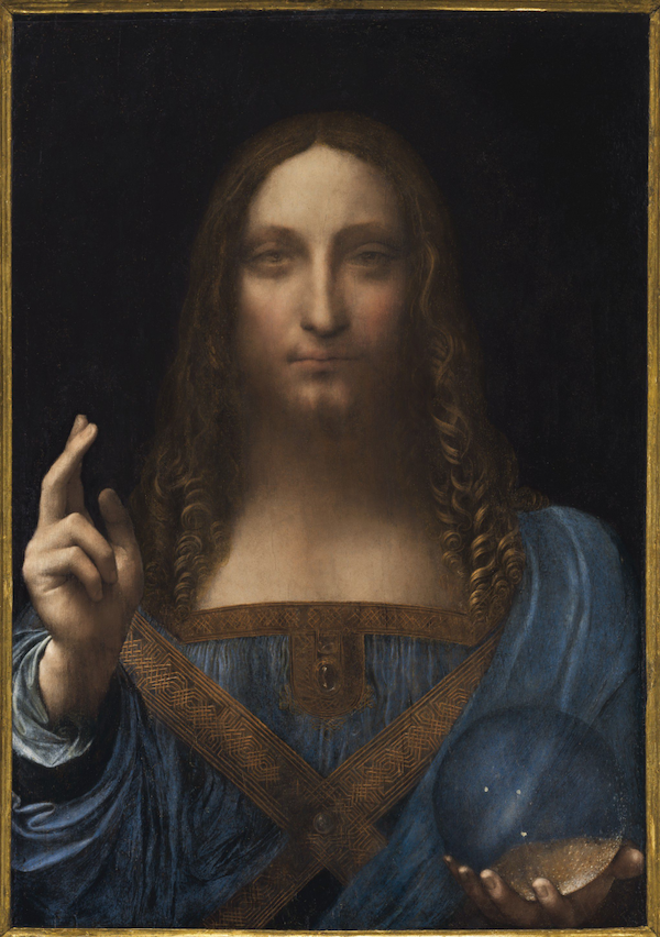 Salvator Mundi attributed to Leonardo da Vinci