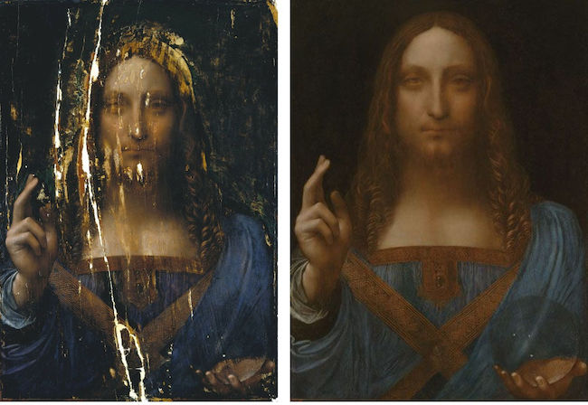 Attribution du Salvator Mundi à Léonard de Vinci