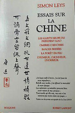 Simon Leys-Chine-Mao Zedong-Révolution culturelle