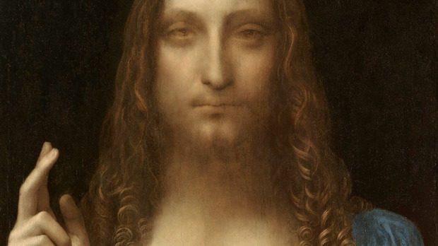 Salvator Mundi attribué à Léonard de Vinci