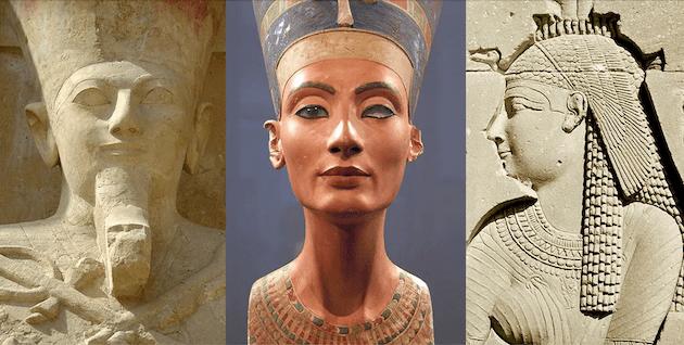 souveraines Égypte et pharaons