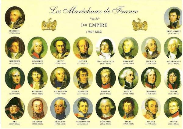 maréchaux de Napoléon