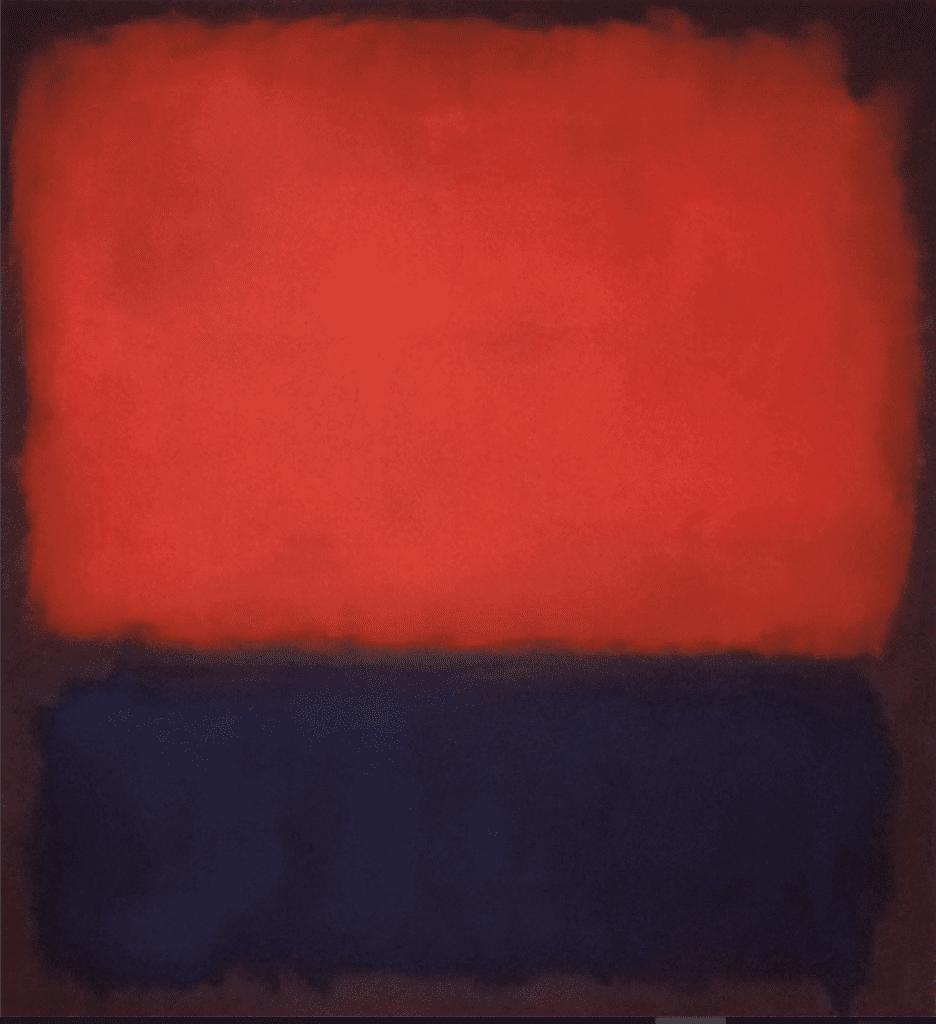 Mark Rothko-peinture abstraite