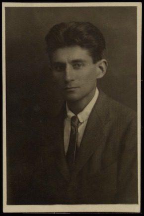 Franz Kafka Jewish writer Praha