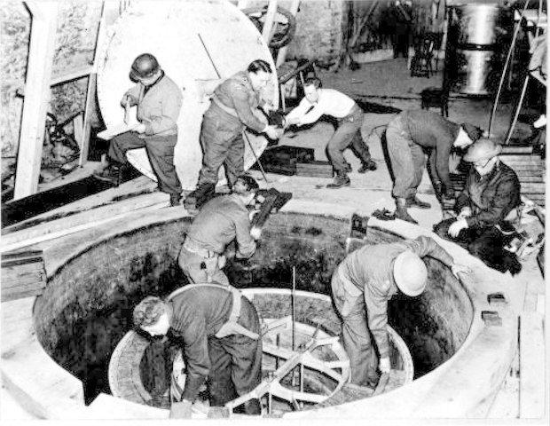recherche nucléaire Allemagne nazie
