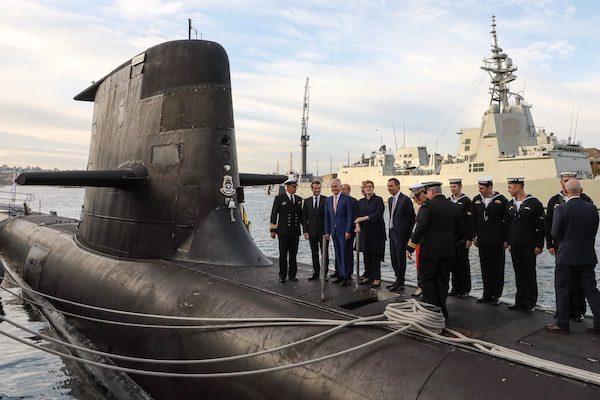 Contrat sous-marins Australie France